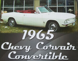 1965 Corvair Convertible...Let the wind blow through your hair!