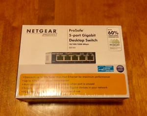 Pro safe 5-port Gigabit Desktop switch