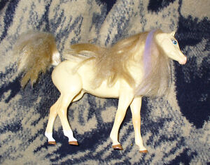 Barbie Palomino Horse with Blonde Mane and Tail