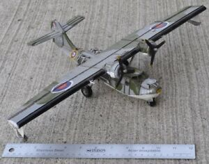Four all-metal WW2 Aircraft models & helicopter