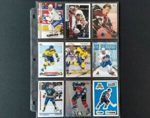 Peter Forsberg Hockey Card Collection (81 Cards)