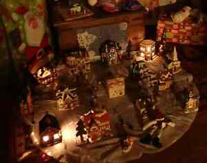 Christmas village.  Kitchener / Waterloo Kitchener Area image 2
