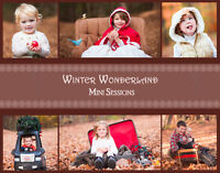 $15 Winter Wonderland Mini Sessions ages 12 and under