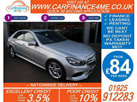 2013 MERCEDES E250 CDI AMG SPORT GOOD / BAD CREDIT CAR FINANCE FROM 84 P/WK