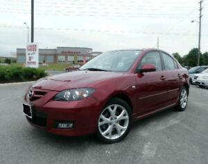 LOW MILEAGE ! 2009 Mazda 3 GT