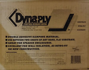 Dynamat DynaPly - damping material West Island Greater Montréal image 1