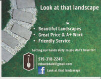*** Landscaping Pro's ***               Snow or Lawn Care  plus+