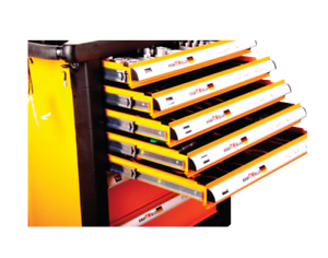 NEW - 7 Drawer Loaded Toolbox / Wagon
