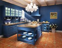 Un vaste choix d'armoires de cuisine sur mesure