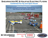 RC Fun Fly and Open House - Shearwater - Aug 8