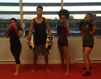 KICKBOXING FOR TEENS 13-16 YEARS OF AGE.