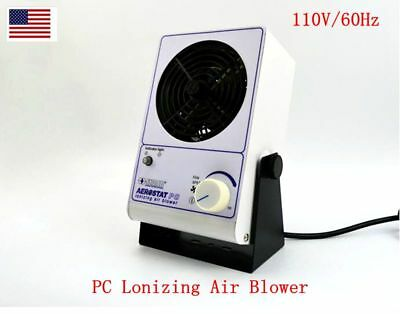 New 110v Pc Lonizing Air Blower Simco Ion Fan Anti-static Ionic Fan Us Stock