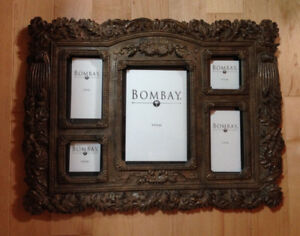 New Large Bombay 5 Picture Frame