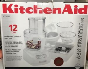 KitchenAid KFPW760 12-Cup Wide mouth