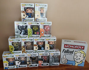 Fallout Pop Figures and Monopoly
