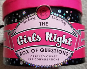 Girls Night Bachelorette Party Game Box of Questions FUN! Adult