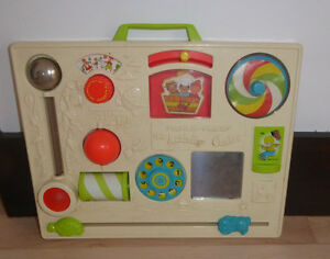 Vintage Fisher Price activity centre, very good condition