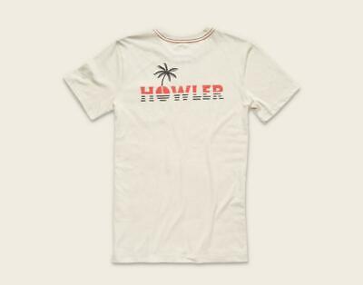 Howler Bros Men's Short Sleeve Horizon Pocket T-Shirt Sand New
