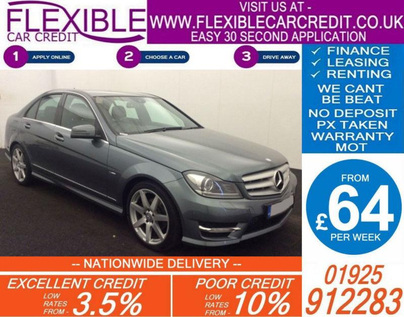 2012 MERCEDES C250 CDI SPORT GOOD / BAD CREDIT CAR FINANCE AVAILABLE