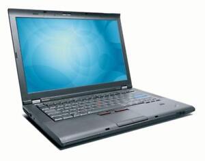 "Lenovo ThinkPad T410 - i5 2.40GHz (M520) - 4GB RAM - 250GB Hard Drive - Camera - 14"" Screen"