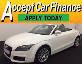 Audi TT Roadster 1.8 ( 158bhp ) Roadster 2012MY T FROM £67 PER WEEK