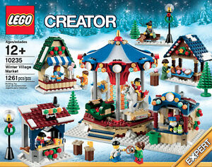 LEGO Winter Village Market Holiday RETIRED - NEW and UNOPENED