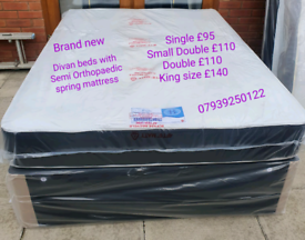 🔥🔥New Beds and Mattresses ( Ready to be delivered)🔥🔥