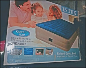 AIR BED ,NEW NOT USED IN BOX