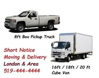 Man With Cube Truck For Your Moving & Delivery Starts From $50