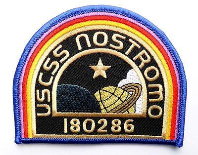 ALIEN Movie USCSS Nostromo Crew Cap IRON ON PATCH