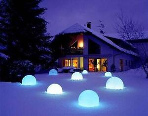 12''LED waterproof Decor Ball Remote Control Changed 16Different Color Changed by Remote 212037