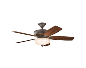 "52"" Tannery Bronze Ceiling Fan"