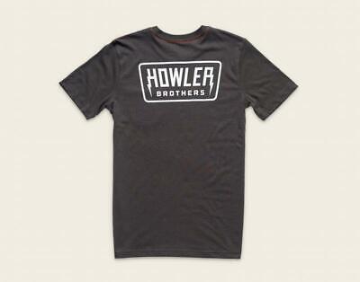 Howler Bros Men's Short Sleeve Hi Watt Pocket T-Shirt Antique Black New XL