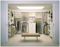 Closets/Cabinetry Design, Manufacturing & Installation Services