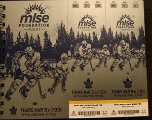 Leafs vs. Philadelphia Gold Tickets - March 9, 2017