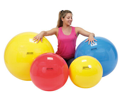 Physiogymnic Ball - PhysioGymnic Inflatable Exercise Ball-Yellow-18