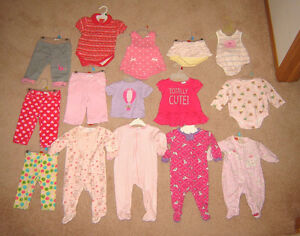 Girls Dresses, Clothes - 3-6, 6, 6-12, 12 mos. Shoes ,Boots sz 3 Strathcona County Edmonton Area image 2