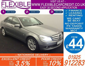 2010 MERCEDES C220 CDI EXECUTIVE SE GOOD / BAD CREDIT CAR FINANCE AVAILABLE