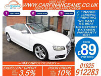 2010 AUDI S5 3.0 TFSI QUATTRO GOOD / BAD CREDIT CAR FINANCE FROM 89 P/WK