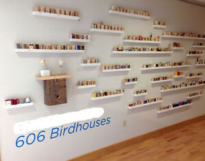 1001 Tiny Birdhouses