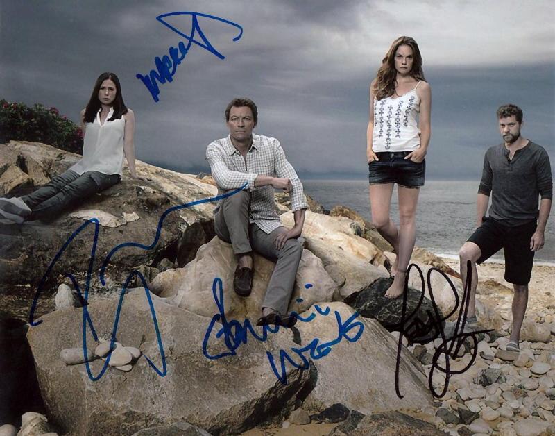 THE AFFAIR.. Dominic West, Ruth Wilson, Joshua Jackson, & Maura Tierney - SIGNED