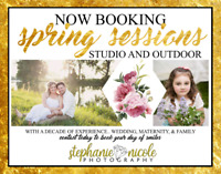 Spring Photography Sessions