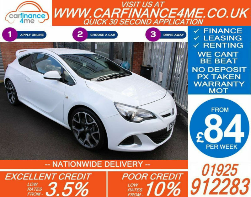 2015 VAUXHALL ASTRA 2.0 VXR GOOD / BAD CREDIT CAR FINANCE FROM 84 P/WK