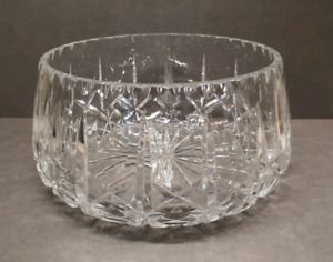 Large crystal bowl Cross and Olive pattern