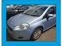 FIAT GRANDE PUNTO 2007 Reg 1.2 PETROL * 85,000 MILES 5 DOOR MANUAL BLUE