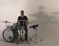 Drum Lessons- In Your Home or Downtown Studio(John+King)