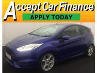 Ford Fiesta 1.6 ( 182ps ) EcoBoost 2014.FROM £57 PER WEEK.