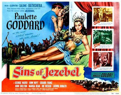 sins of jezebel 1953 dvd