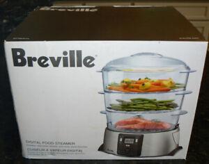 BREVILLE Digital Food Steamer - New in box