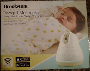BRAND NEW Brookstone Video Baby Monitor - Wifi, iPhone, Android
